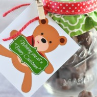 "Wishing You a ""Beary"" Christmas! Gift Idea"