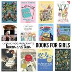 Over 50 Tween & Teen Appropriate Books for Girls
