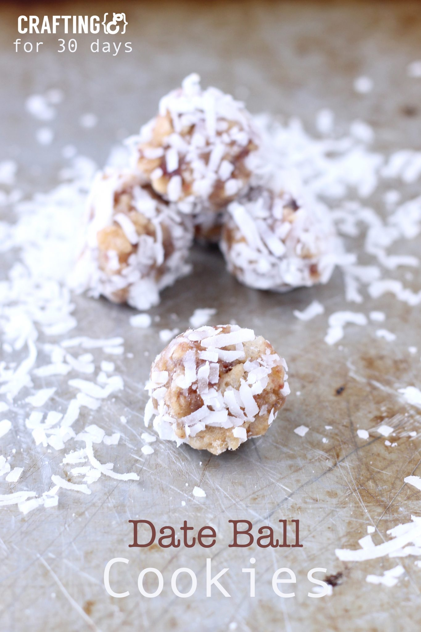 Date Ball Cookie Recipe