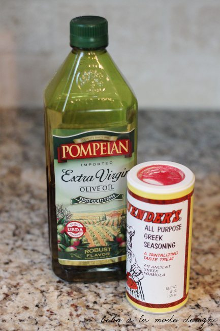 Greek Salsa Dressing Ingredients