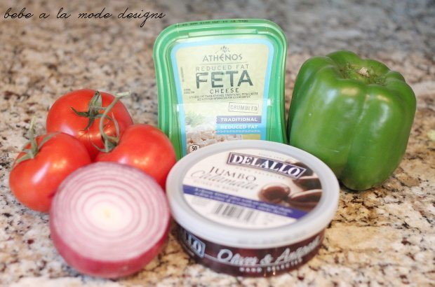 Greek Salsa Ingredients