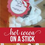 Hot Cocoa on a Stick - make this fun Christmas treat using a few simple ingredients. via www.thirtyhandmadedays.com