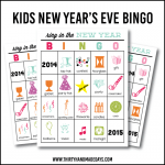Printable New Year's Eve BINGO