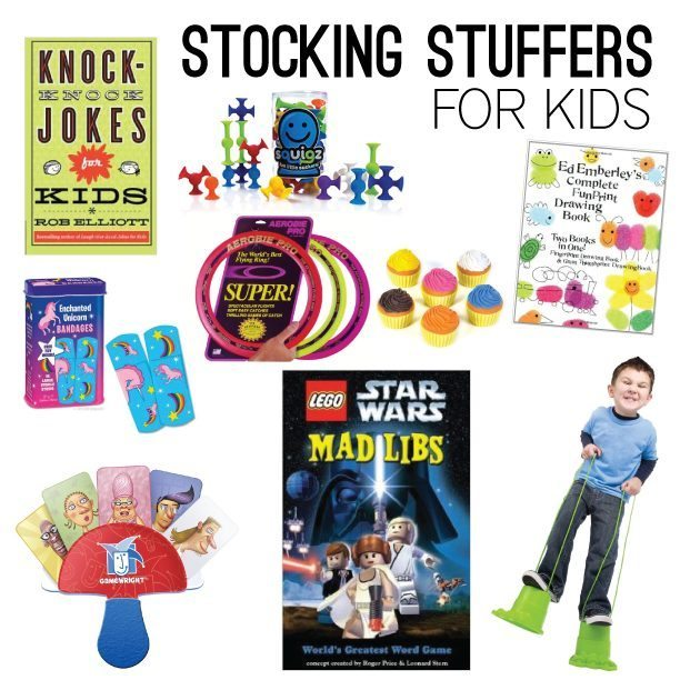Fun stocking stuffers ideas or kids!