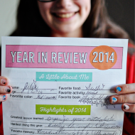 Printable New Year's Resolutions for Kids 2015