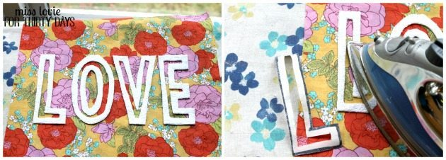09 Floral Love Pillow DIY