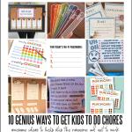 10 Genius Ways to Get Kids to Do Chores