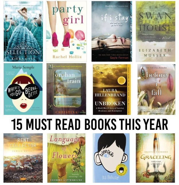 15 must read books for this year!