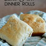 Cake Mix Dinner Rolls