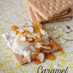 Caramel Banana Grahams- a tasty lower calorie treat!