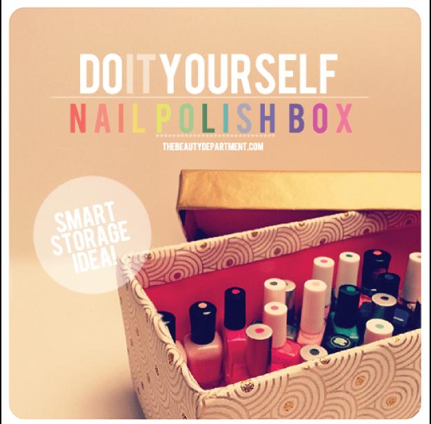 DIY Nail Box