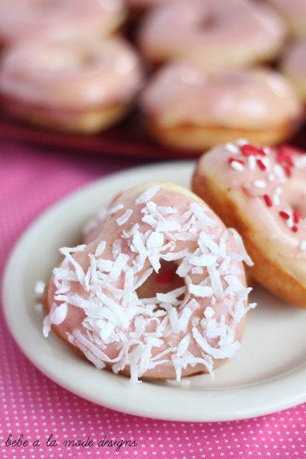 doughnuts with coconut