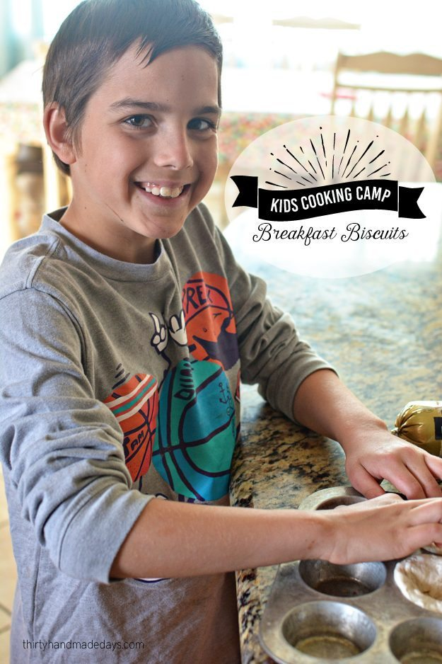 Kids Cooking Camp- Breakfast Biscuits