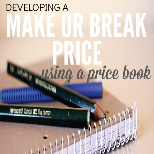Make or break price book