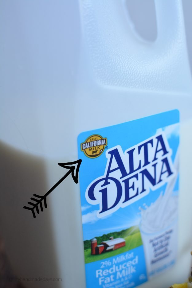 Look for the symbol - real CA milk!
