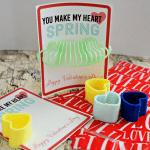 Printable Slinky Valentine