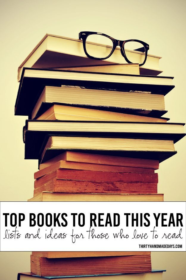 Books To Read This Year Lists Fun Ideas
