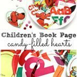 Children's Book Page Heart Valentines