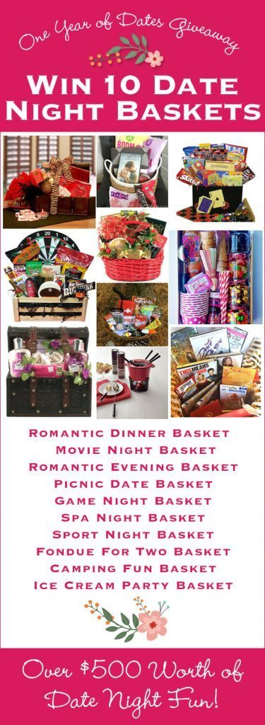 Date Night Basket Giveaways