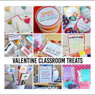 Orange you glad…Printable Valentines + 10 Classroom Valentines