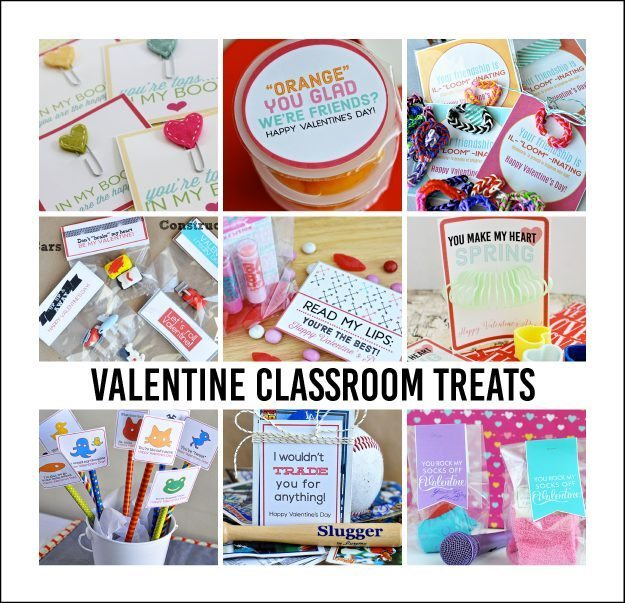 Fun Classroom Valentine Treats