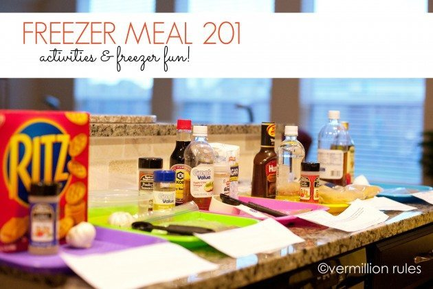 Learn how to host a freezer meal activity and more tips!
