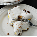 No Bake 5 Ingredient Candy Bar Pie