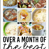 Over a Month of Slow Cooker Soups
