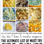 the Ultimate List of Must Try Side Dishes