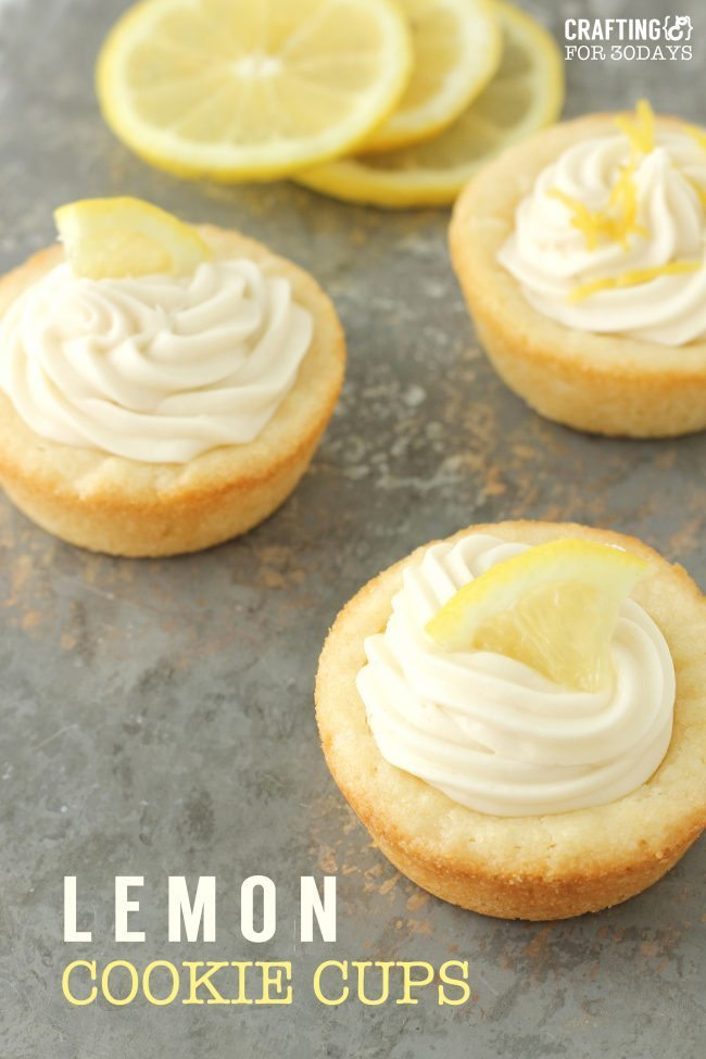 Lemon Cookie Recipe - super delicious and easy dessert to make!