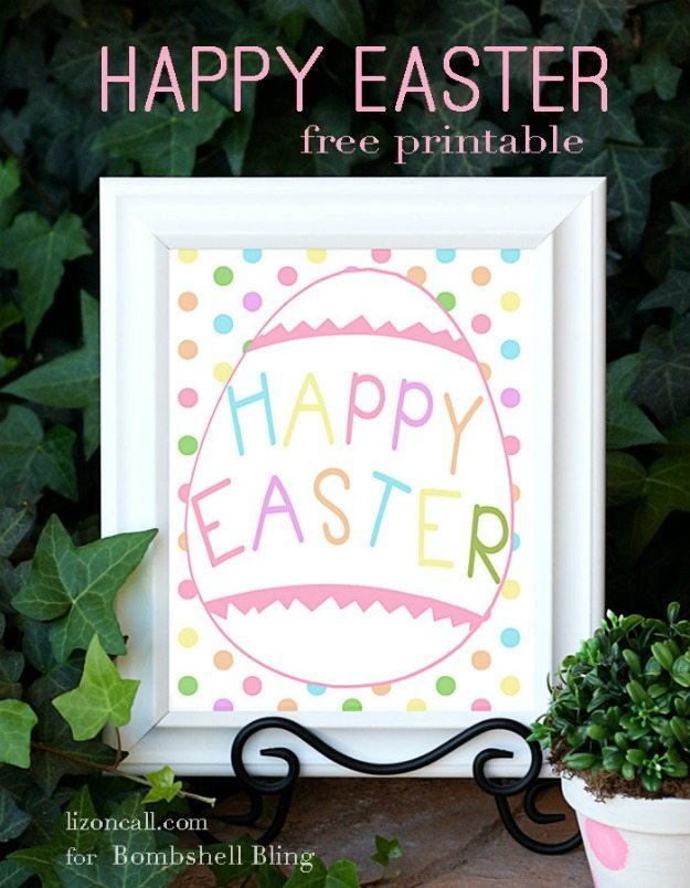Easter Themed Free Printable Round Up / by Busy Mom's Helper for ThirtyHandmadeDays.com