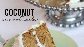 Coconut Carrot Cake