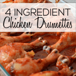 4 Ingredient Chicken Drumettes