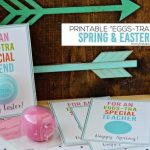 Printable Happy Easter Tags That Are Eggstra Special