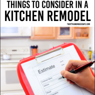 5 Things to Consider in a Kitchen Remodel