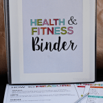 Fitness & Health Binder