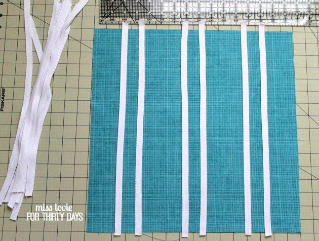 03 DIY Cane Pattern Target Pillow