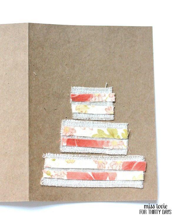 06 DIY Sewn Wedding Cards