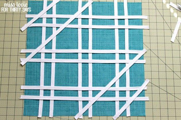 06 DIY geometric design pillow