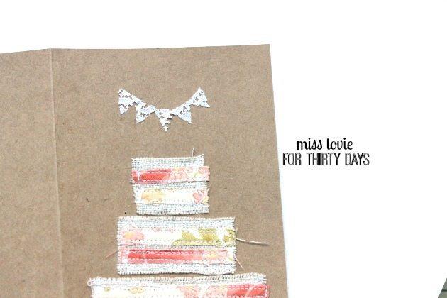 08 DIY Sewn Wedding Cards