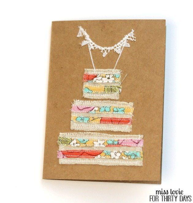 11 Naked Cake Wedding Card