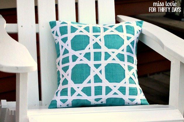 16 DIY Target Knock-off Pillow Tutorial