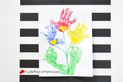 Mother's Day Handprint Gift