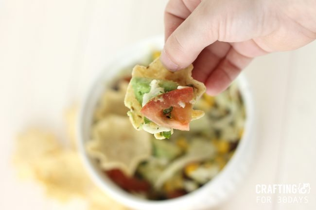 Cowboy Salsa - the perfect appetizer! From Crafting E