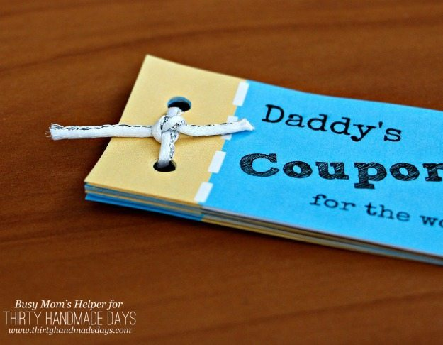 Printable Father S Day Coupon Book