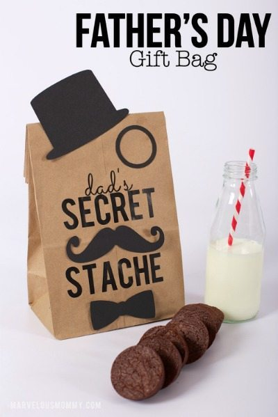 Dad's Secret 'Stache Printable