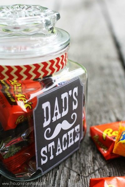 Father's Day Jar Gift Tags