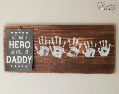 Father's Day 'hero' printable