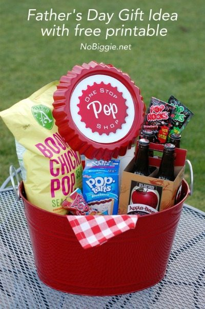 Father's Day Gift Basket Printables