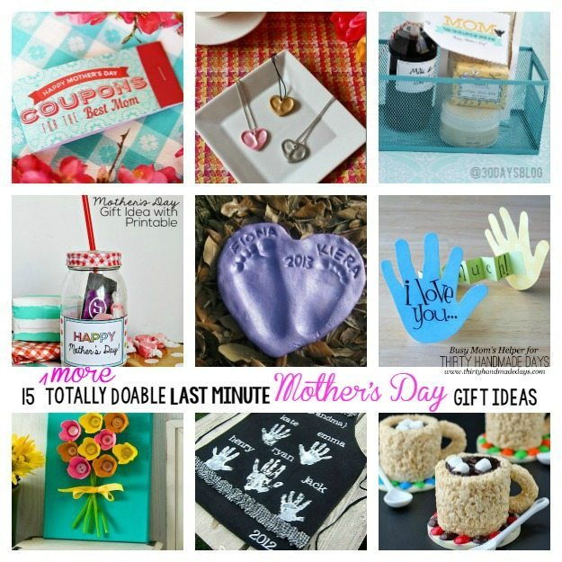 15 More Totally Doable Last Minute Mother's Day Gift Ideas